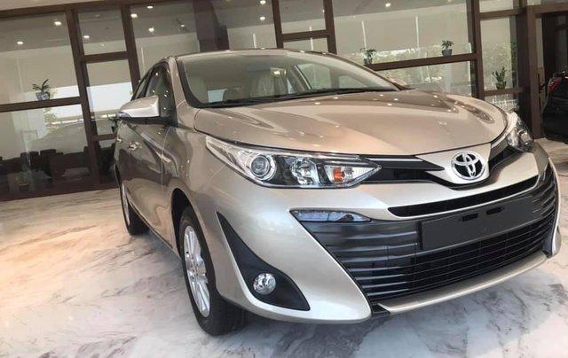 Toyota Tân Cảng hỗ trợ mua xe Vios 2019 trọn gói chỉ với 150 triệu - Xe đủ màu giao ngay trong ngày -LH 09019233992