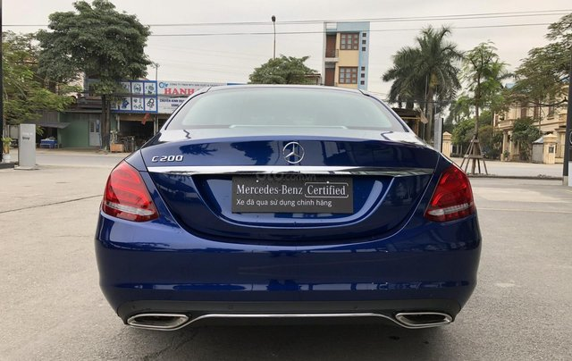 Cần bán Mercedes C200, màu xanh nội thất đen5
