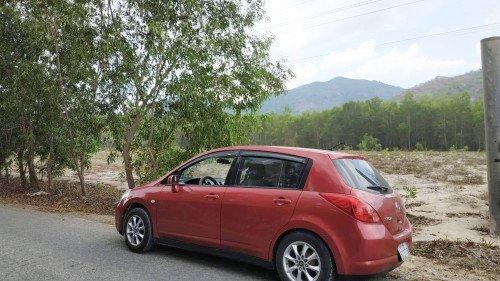 Bán Nissan Tiida năm sản xuất 2008, màu đỏ, nhập khẩu nguyên chiếc 1