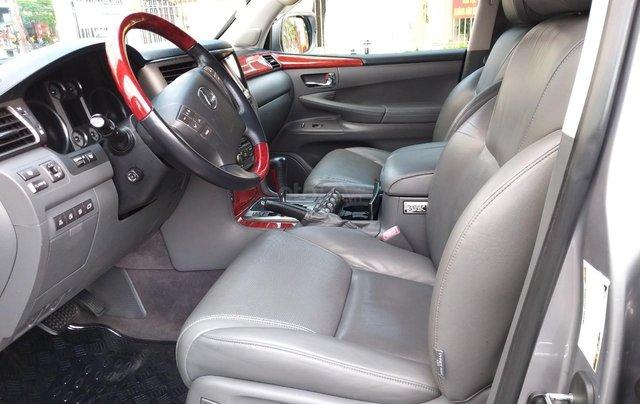 Lexus LX 570 model 2009, màu bạc, nhập khẩu, đặc biệt toàn bộ còn zin theo xe, cực mới, chỉ 2 tỷ 180 triệu9
