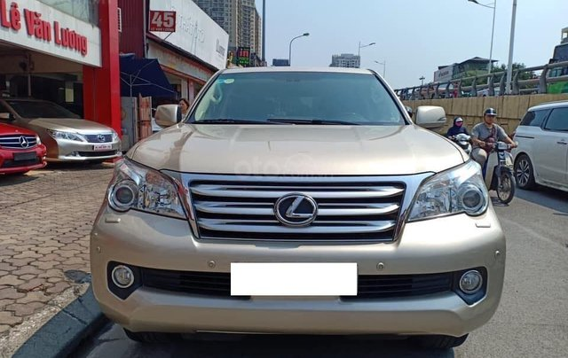 Cần bán xe Lexus GX460 năm 2009, màu vàng cát, xe nhập1
