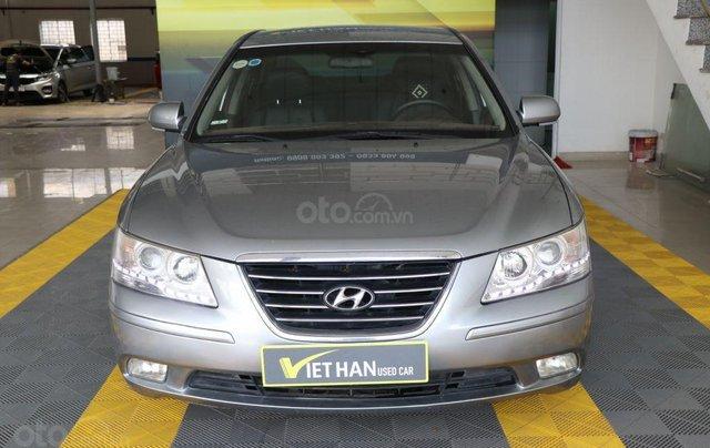 Cần bán xe Hyundai Sonata 2.0MT sản xuất năm 2009, màu xám (ghi), nhập khẩu giá cạnh tranh1