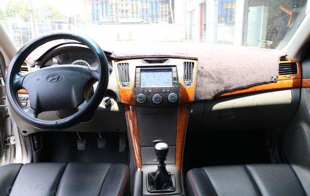 Cần bán xe Hyundai Sonata 2.0MT sản xuất năm 2009, màu xám (ghi), nhập khẩu giá cạnh tranh9