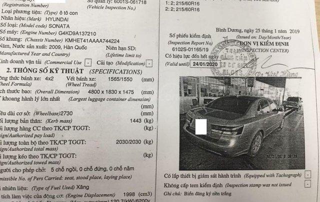 Cần bán xe Hyundai Sonata 2.0MT sản xuất năm 2009, màu xám (ghi), nhập khẩu giá cạnh tranh13
