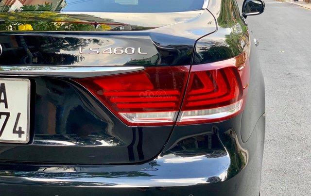 Bán Lexus LS460L sản xuất 2007 lên model 2016 màu đen nội thất đỏ5