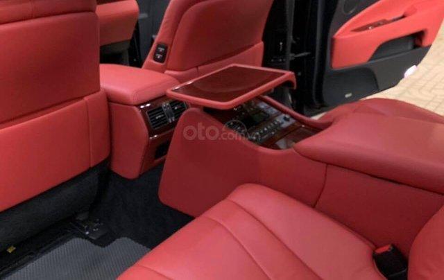 Bán Lexus LS460L sản xuất 2007 lên model 2016 màu đen nội thất đỏ10