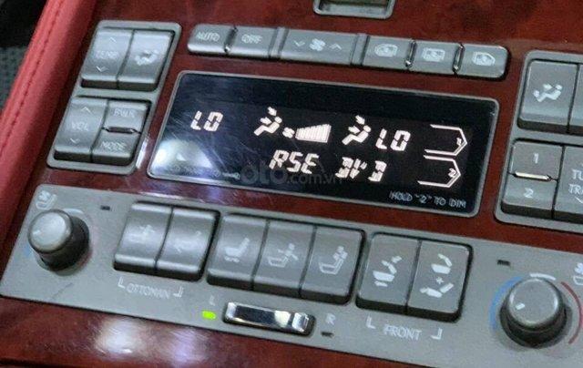 Bán Lexus LS460L sản xuất 2007 lên model 2016 màu đen nội thất đỏ13