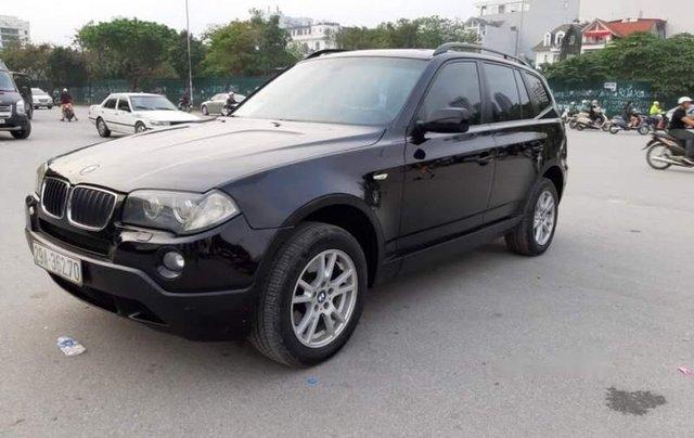 Bán BMW X3 2008, màu đen, xe nhập, số tự động 1