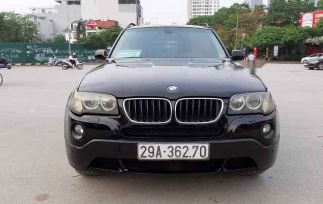 Bán BMW X3 2008, màu đen, xe nhập, số tự động 0