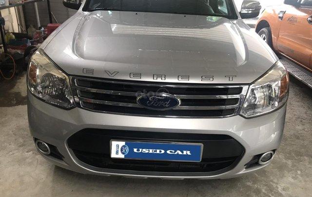 Cần bán xe Ford Everest 2.5AT đời 2015, màu bạc tại City Ford0