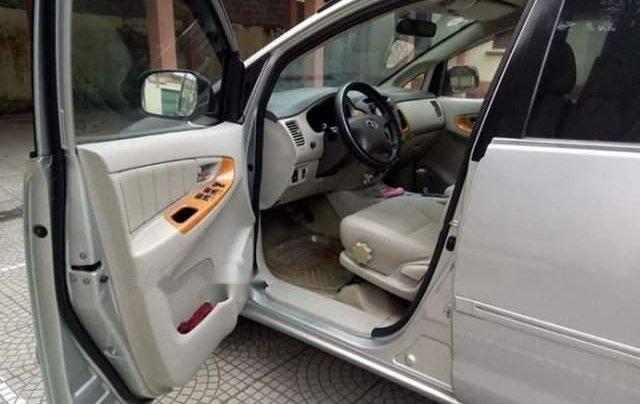 Cần bán lại xe Toyota Innova AT đời 2008, màu bạc, đăng ký 20094