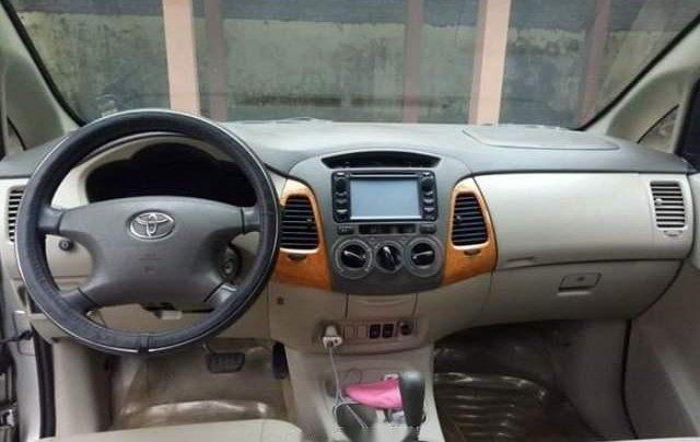 Cần bán lại xe Toyota Innova AT đời 2008, màu bạc, đăng ký 20093