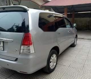 Cần bán lại xe Toyota Innova AT đời 2008, màu bạc, đăng ký 20092