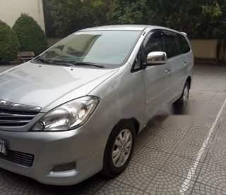 Cần bán lại xe Toyota Innova AT đời 2008, màu bạc, đăng ký 20091