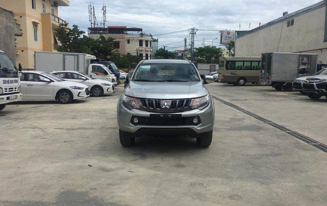 [Ưu đãi] Mitsubishi Triton số sàn, động cơ 2.5 + Turbo, nhập Thái, cho góp: 80%. LH ngay: 0905.91.01.991
