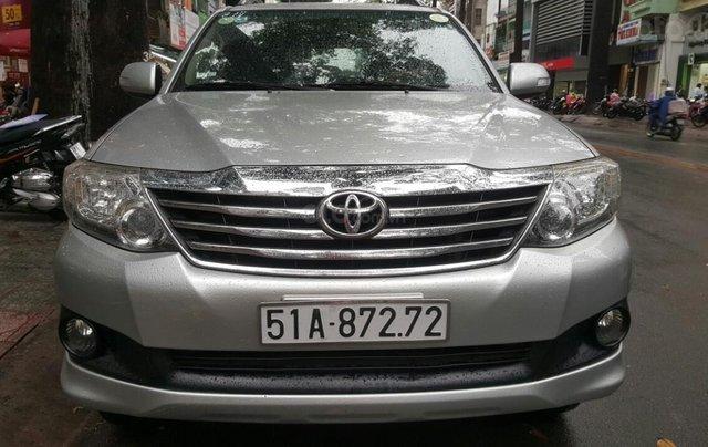 Bán xe Toyota Fortuner V. 2.7 máy xăng T6/2014. Liên hệ: 0913715808 - 0942892465 Thanh0
