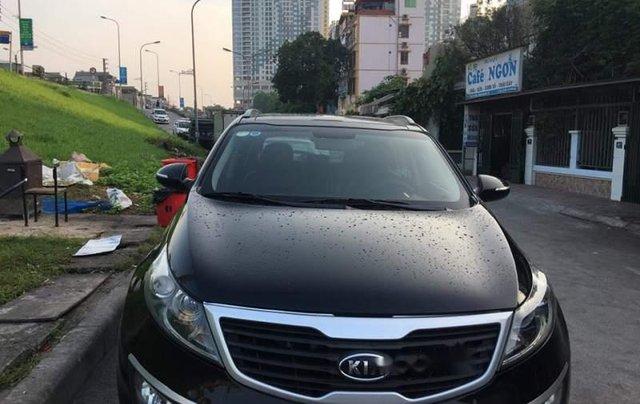 Bán Kia Sportage Limited 2010, màu đen, chính chủ, giá tốt0