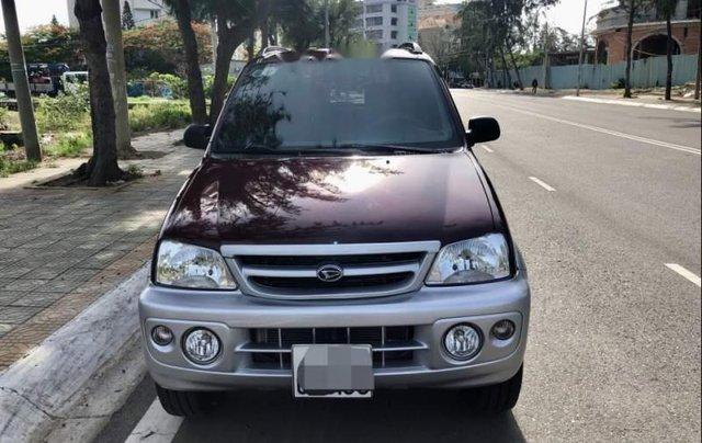Bán Daihatsu Terios 1.3 2005, màu đỏ, nhập khẩu, số sàn 0
