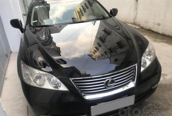 Gia đình đổi xe bán Lexus ES350 2009 màu đen, nhập Nhật chính chủ0