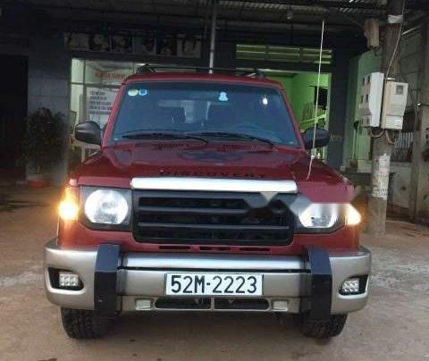 Cần bán Mekong Paso sản xuất năm 1995, màu đỏ, xe nhập xe gia đình giá cạnh tranh0