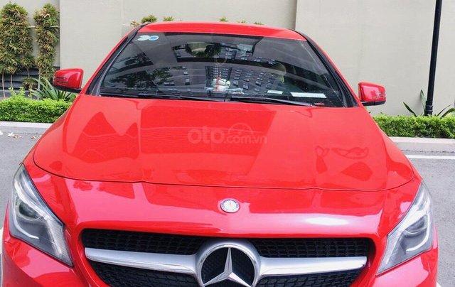 Bán CLA 200 2015 màu đỏ, xe nhập nguyên chiếc, xe đẹp đi ít, chất lượng bao kiểm tra hãng4