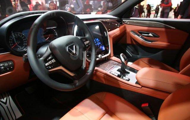 Bán ô tô VinFast LUX A2.0 Full Option (Nội thất da Nappa) 2019, màu đỏ (Giá 1 tỷ 3 đã bao gồm VAT - bàn giao xe T9.2019)1
