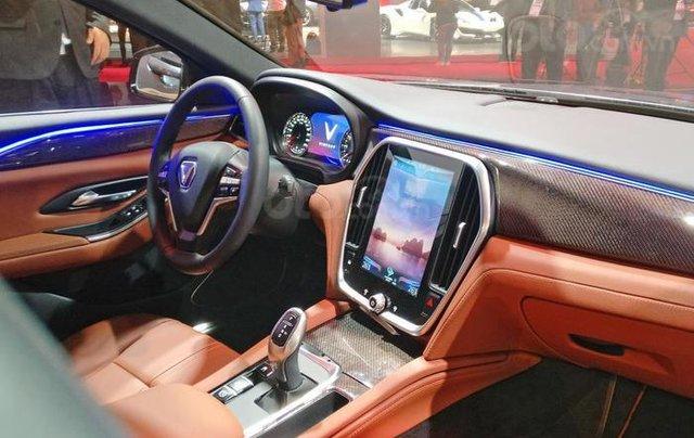 Bán ô tô VinFast LUX A2.0 Full Option (Nội thất da Nappa) 2019, màu đỏ (Giá 1 tỷ 3 đã bao gồm VAT - bàn giao xe T9.2019)3