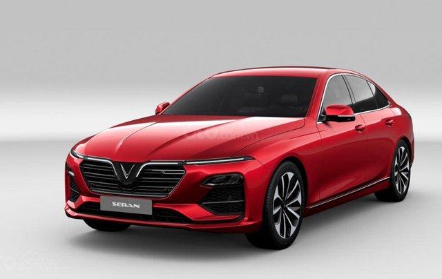 Bán ô tô VinFast LUX A2.0 Full Option (Nội thất da Nappa) 2019, màu đỏ (Giá 1 tỷ 3 đã bao gồm VAT - bàn giao xe T9.2019)0