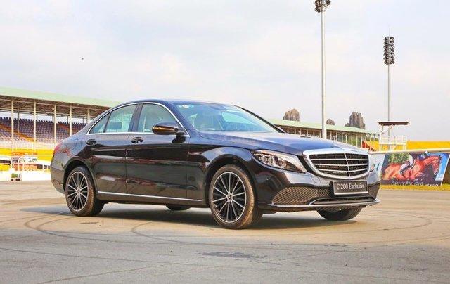 Bán xe Mercedes C200 Exclusive 2019 (C250 cũ): Thông số, giá lăn bánh (07/2019) giảm tiền mặt, tặng bảo hiểm và phụ kiện0