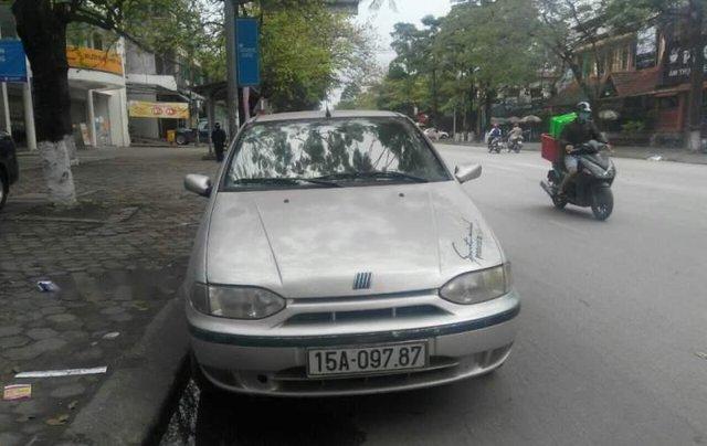 Bán Fiat Siena HLX năm sản xuất 2002, màu bạc, nhập khẩu0