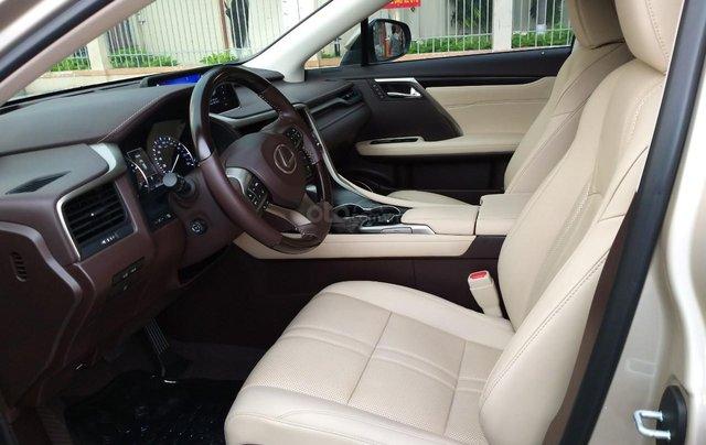 Lexus RX 350 model 2016, màu kem, nhập khẩu chính hãng, xe nhà ít sử dụng còn mới toanh, 3 tỷ 520 triệu4