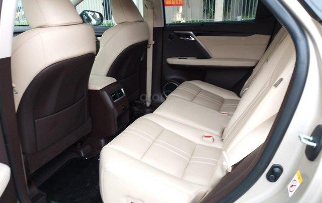 Lexus RX 350 model 2016, màu kem, nhập khẩu chính hãng, xe nhà ít sử dụng còn mới toanh, 3 tỷ 520 triệu6