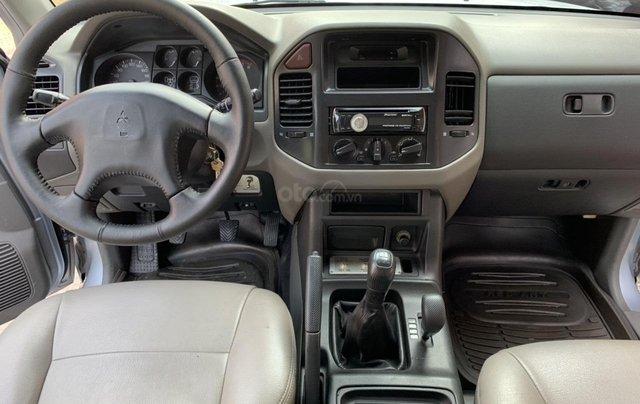Cần bán xe Mitsubishi Pajero năm sản xuất 2006, màu bạc, nhập khẩu nguyên chiếc1