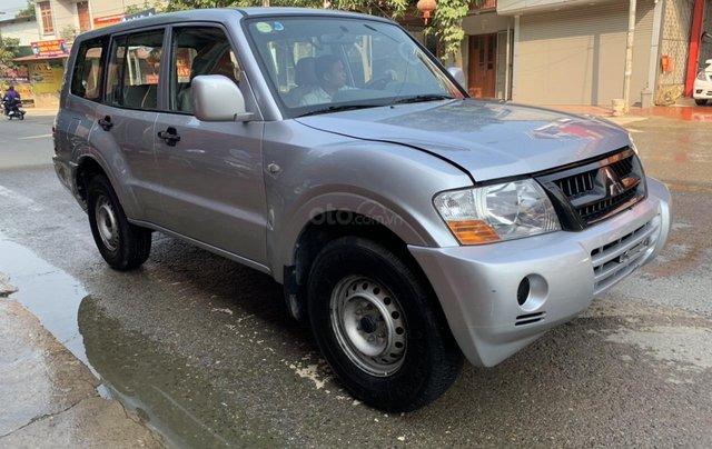 Cần bán xe Mitsubishi Pajero năm sản xuất 2006, màu bạc, nhập khẩu nguyên chiếc6