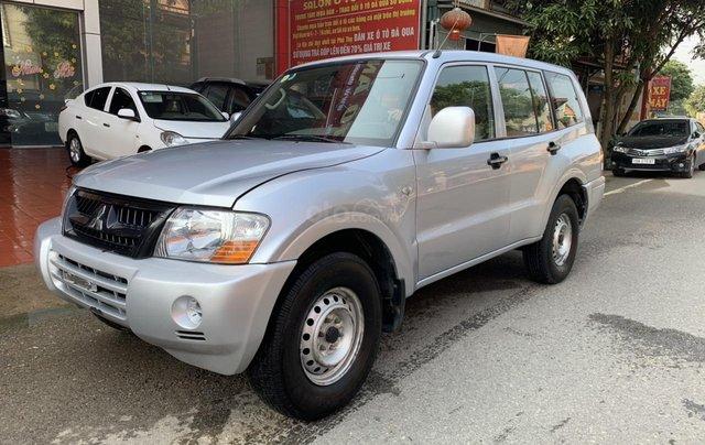 Cần bán xe Mitsubishi Pajero năm sản xuất 2006, màu bạc, nhập khẩu nguyên chiếc4