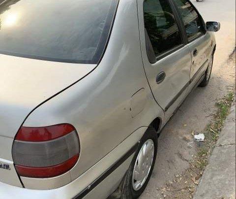 Cần bán lại xe Fiat Siena đời 2002, màu bạc, gầm chắc4