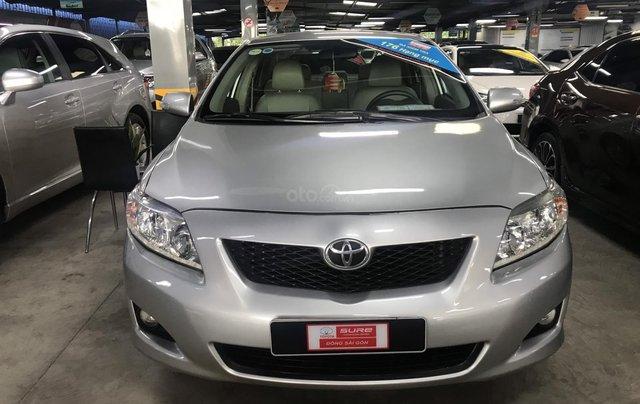 Bán Corolla Altis 2.0V 2010 màu bạc, xe đẹp mà giá lại quá rẻ, LH 09079696851