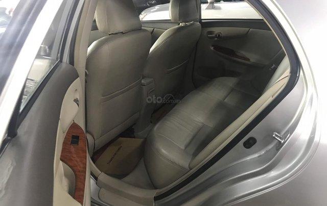 Bán Corolla Altis 2.0V 2010 màu bạc, xe đẹp mà giá lại quá rẻ, LH 09079696855