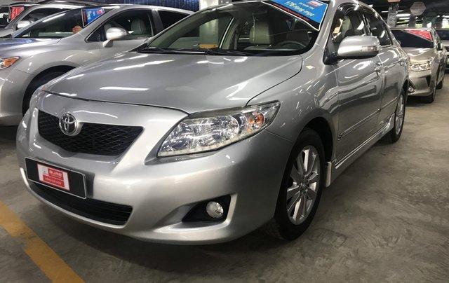 Bán Corolla Altis 2.0V 2010 màu bạc, xe đẹp mà giá lại quá rẻ, LH 09079696856