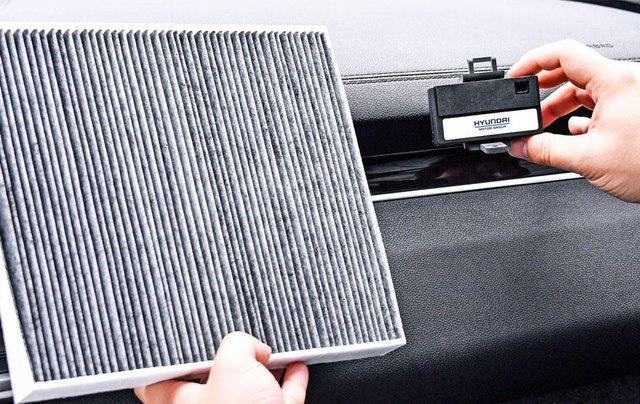 Hyundai có công nghệ lọc khí cabin mới