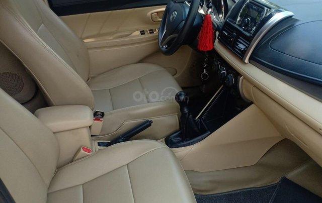 Cần bán Toyota Vios 1.5E đời 2017, sử dụng kĩ, bán gấp 468 triệu6