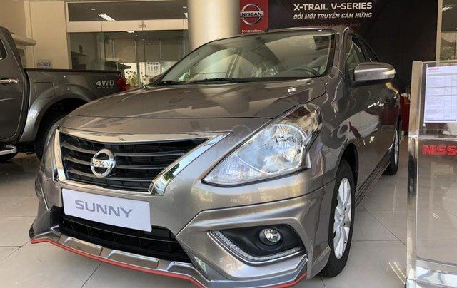 Bán ô tô Nissan Sunny đời 2019, màu trắng, giá chỉ từ 425tr0