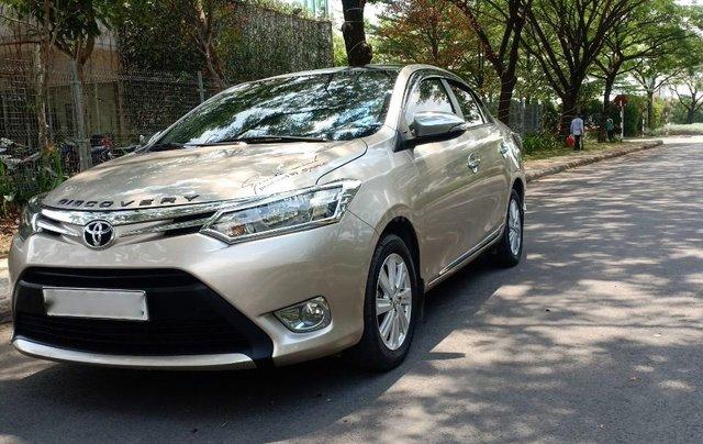 Cần bán Toyota Vios 1.5E đời 2017, sử dụng kĩ, bán gấp 468 triệu1
