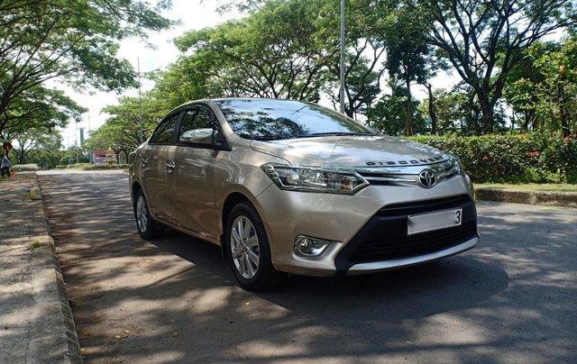 Cần bán Toyota Vios 1.5E đời 2017, sử dụng kĩ, bán gấp 468 triệu2