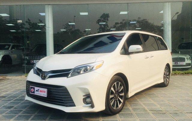MT Auto cần bán nhanh chiếc xe Toyota Sienna năm sản xuất 2019, màu trắng - Giá mềm - Giao toàn quốc1