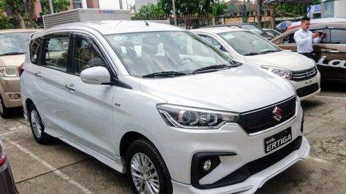 Bán xe Suzuki Ertiga sản xuất 2019, màu trắng2