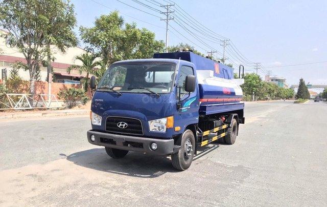 Bán ô tô Hyundai Mighty 110s-Bồn 8000L-2019, màu xanh lam0