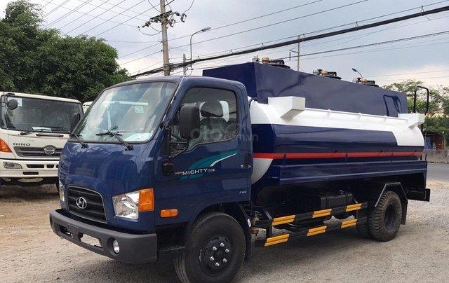 Bán ô tô Hyundai Mighty 110s-Bồn 8000L-2019, màu xanh lam2