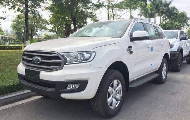 Bán ô tô Ford Everest 2019, màu trắng, nhập khẩu0