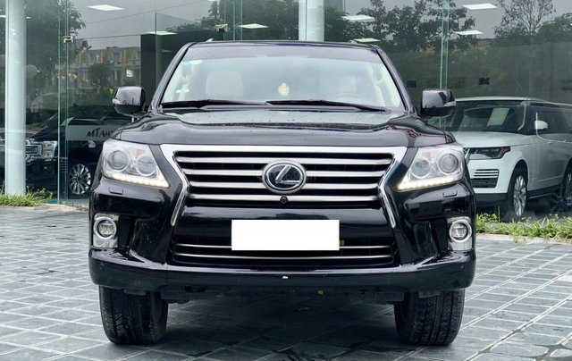 Bán xe Lexus LX 570 đã qua sử dụng SX 2014, màu đen, LH Ms Hương 09453924681